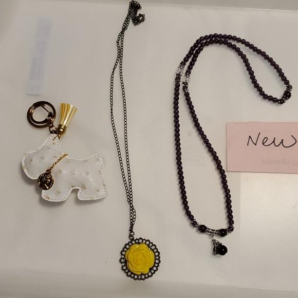 @NEW@ purple necklace